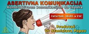 Vebinar: Asertivna komunikacija - konstruktivnom komunikacijom do uspeha @ Online seminar